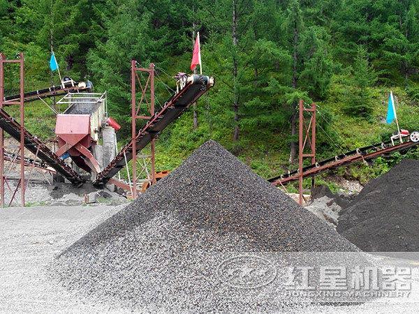 制砂生产线的安全操作防范于未然