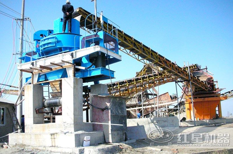 机制砂生产线中制砂机和洗砂机如何配套使用