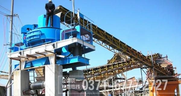 制砂生产线上制砂设备安装之前用户要做的工作